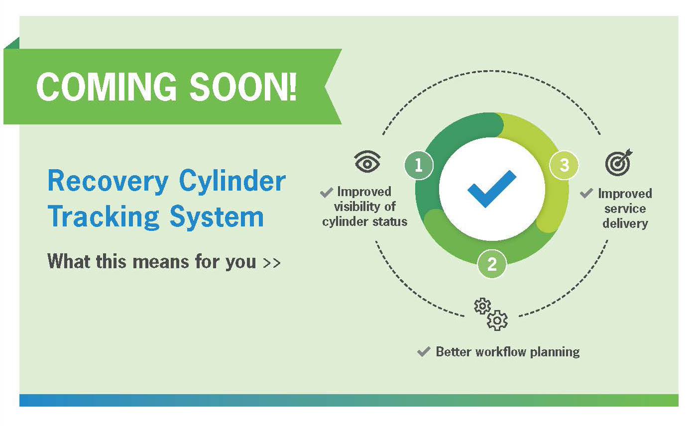 Recovery Cylinder Tracking System